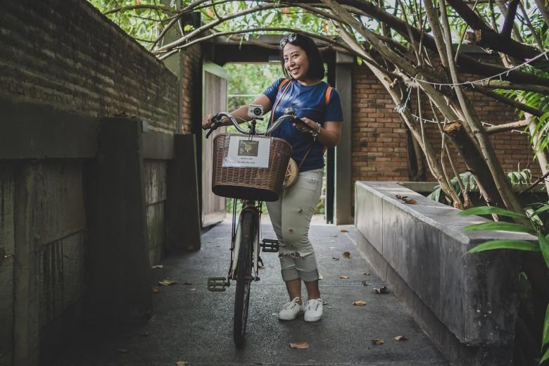 Découverte de Bang Kra Jao à vélo